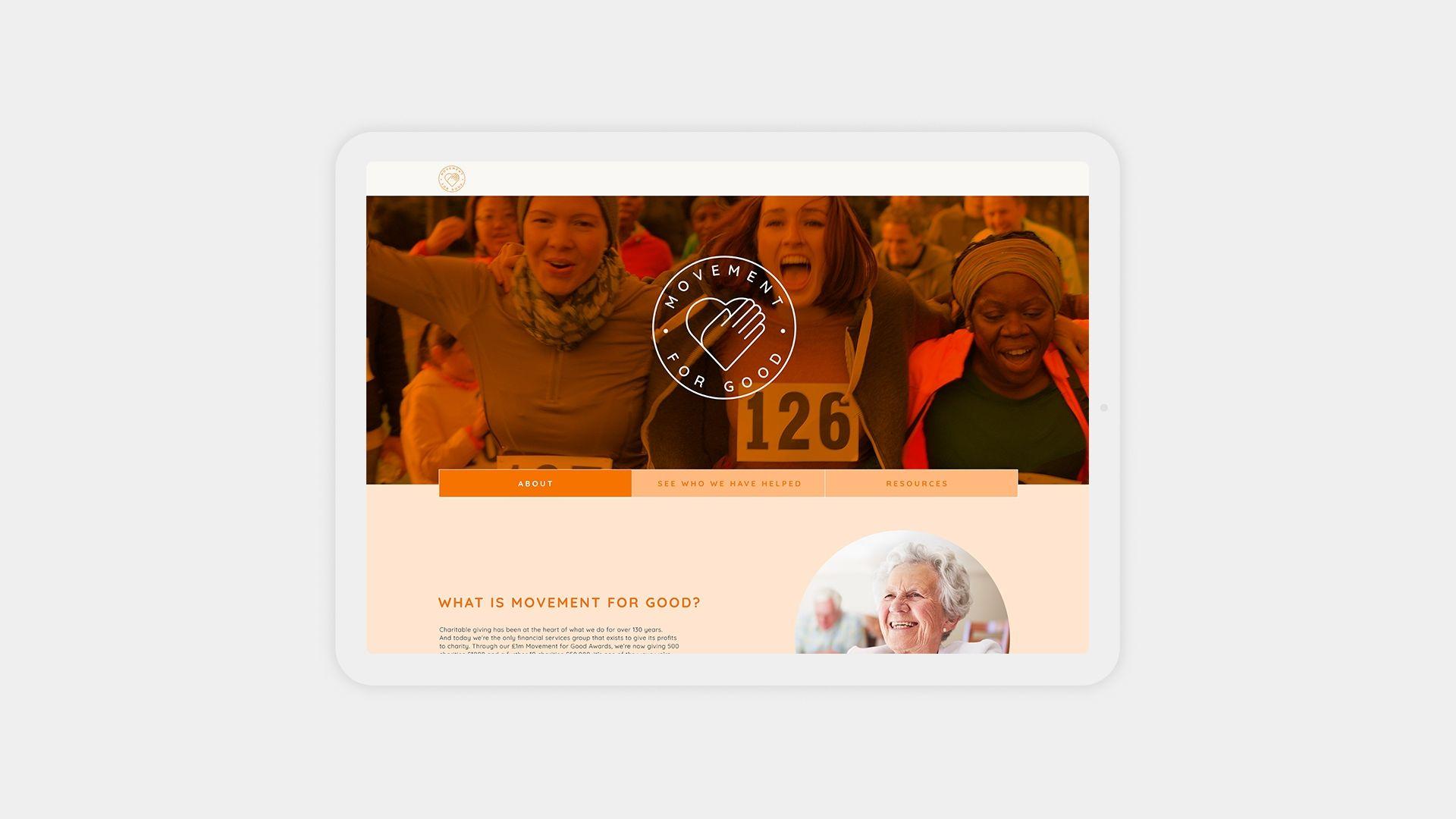 Ecclesiastical Movement For Good Responsive Website Design