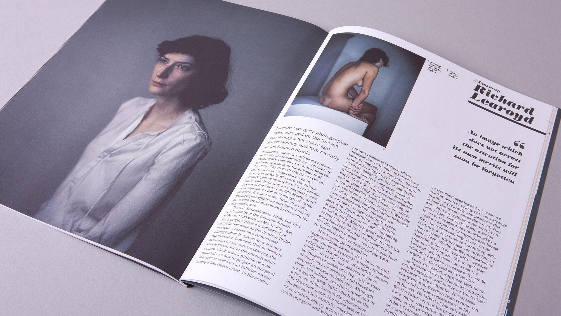 Royal West of England Academy  Art Magazine Spread