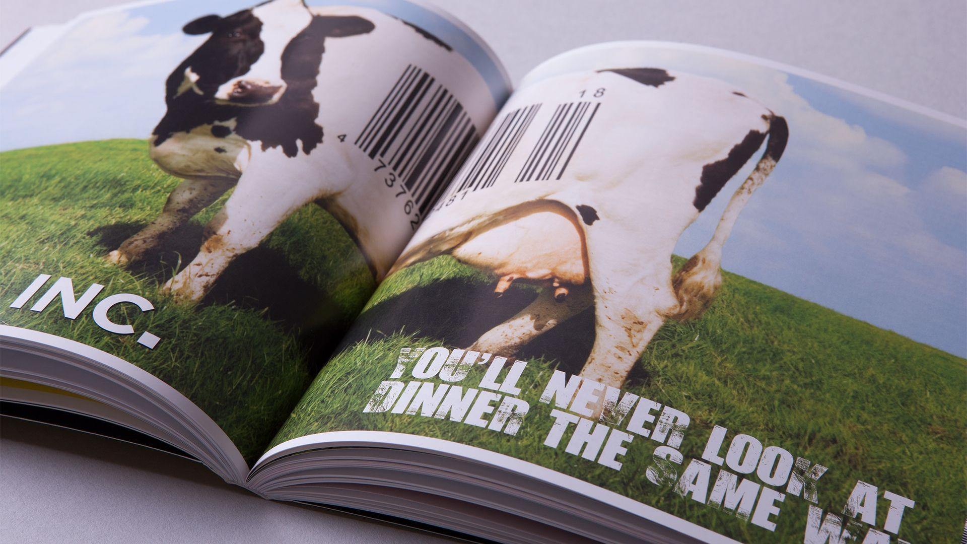 Soil Association Stuffed Book Inner Spread