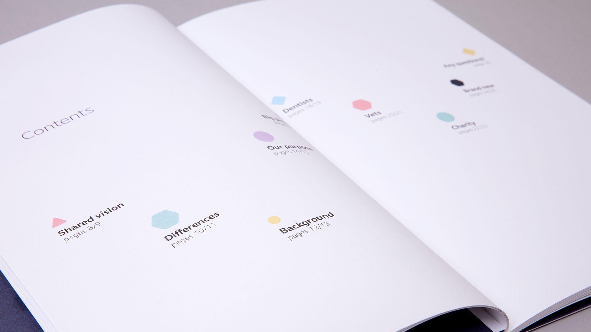 Simplyhealth Professionals Brochure Design