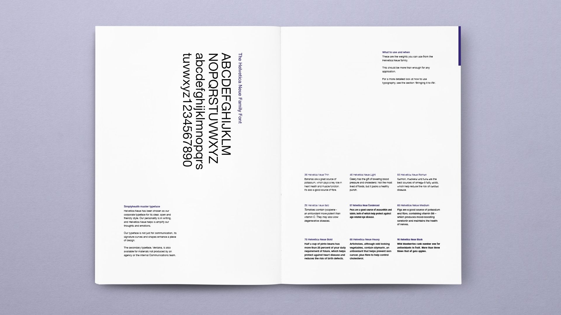 Simplyhealth Brandguides Book Typeface
